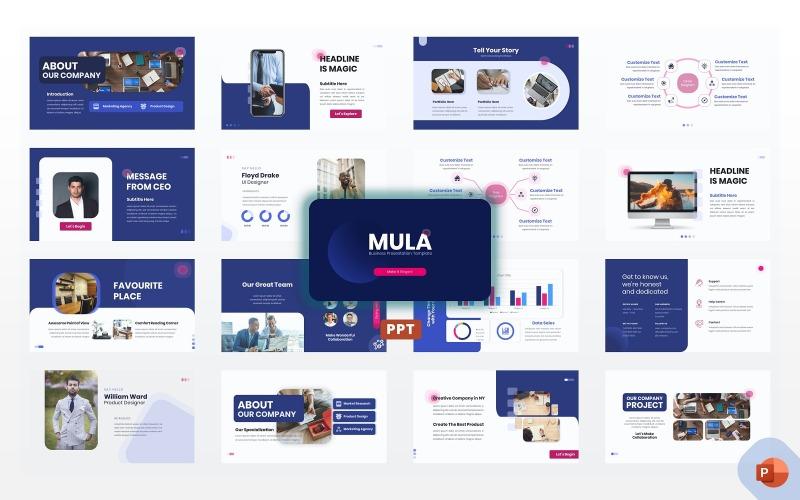 Мула - Бизнес Шаблоны презентаций PowerPoint