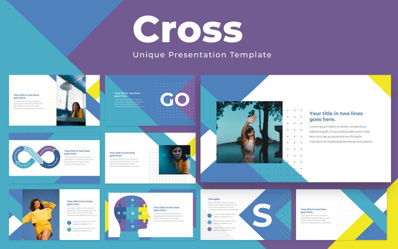 Шаблон презентации Cross Powerpoint