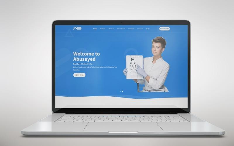Abusayed - Целевая страница HTML5 для здравоохранения, медицины и больниц