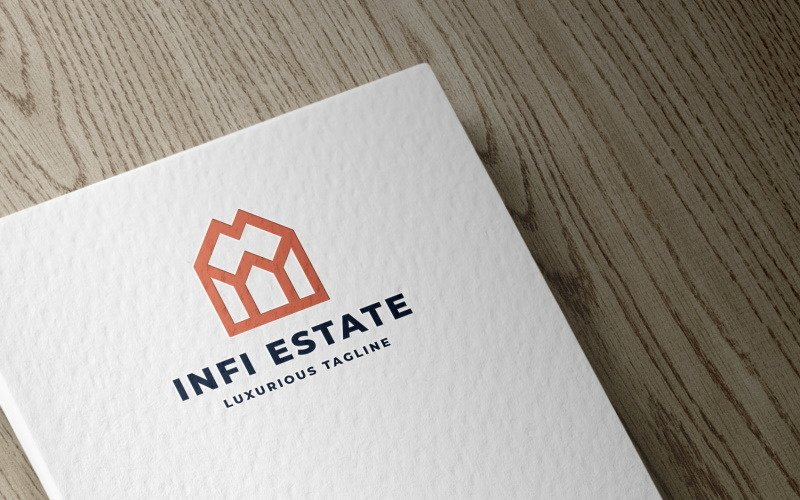 Infinity Real Estate Logo template