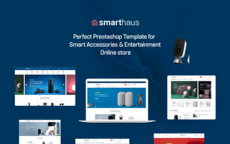 TM Smarthaus - Тема Prestashop для смарт-устройств и развлечений