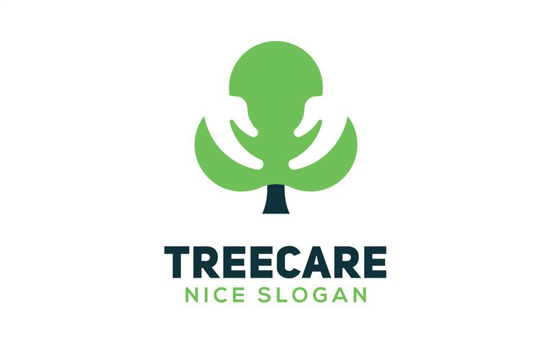 Tree Caring Logo Template
