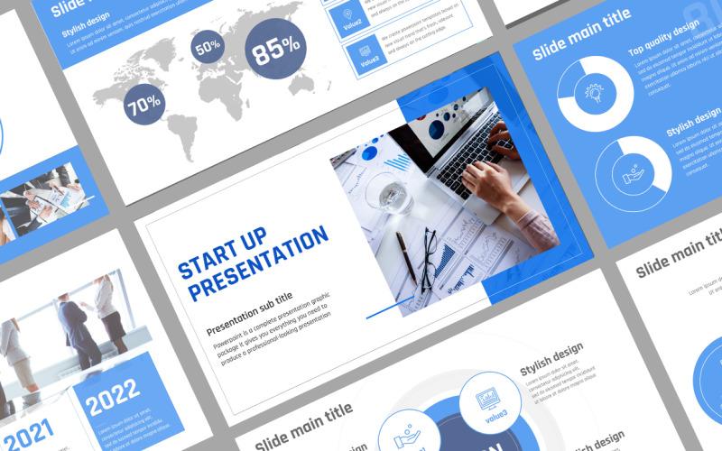 Start up Presentation PPT Template