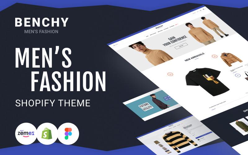 Benchy - Men`s Fashion Shopify Store theme