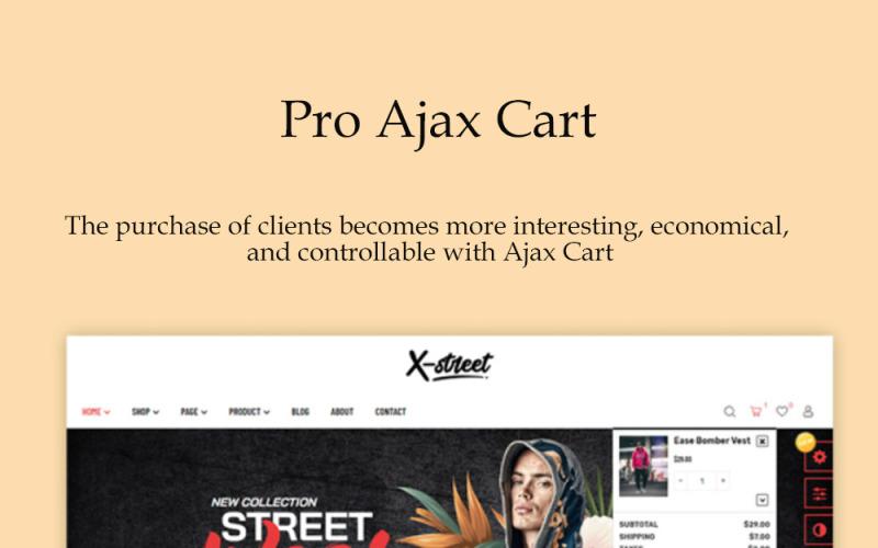 TM Xstreet - Street Style Fashion Prestashop-thema