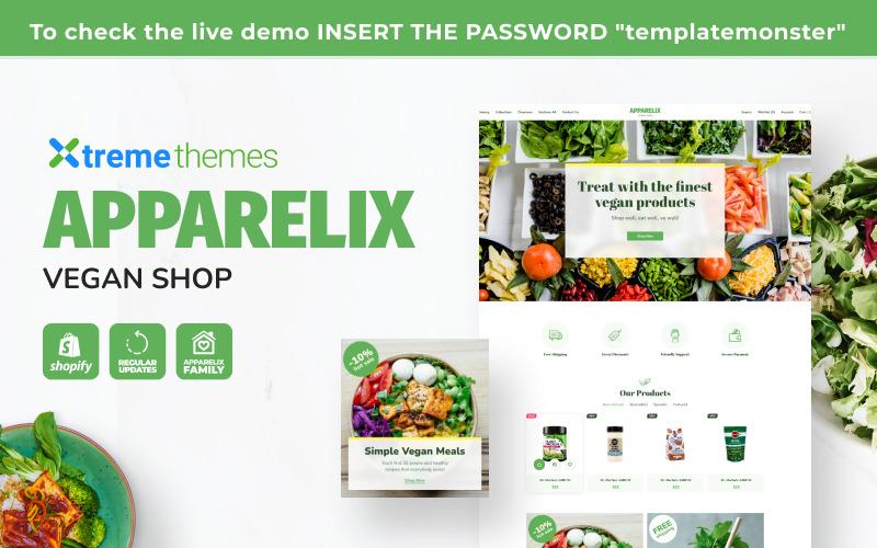 Apparelix Vegan Shop Shopify Theme