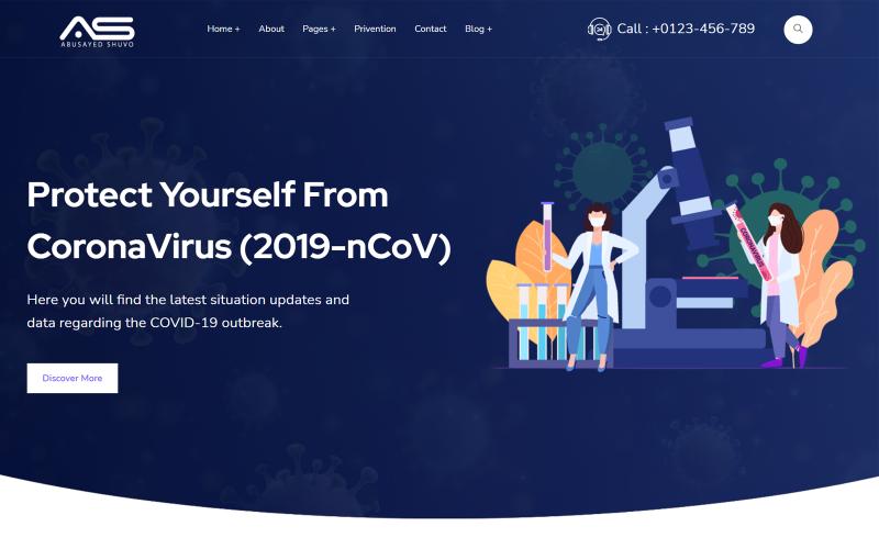 Mask - Coronavirus Medical Prevention Template