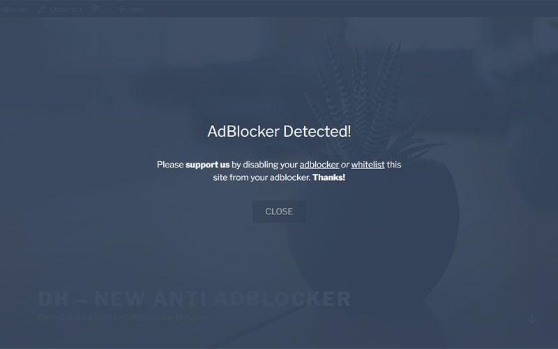 DH - New Anti AdBlocker (Anti AdBlocker WordPress Plugin)
