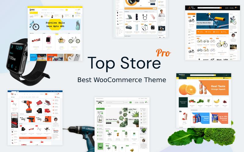 Top Store Pro - лучшая тема для WooCommerce