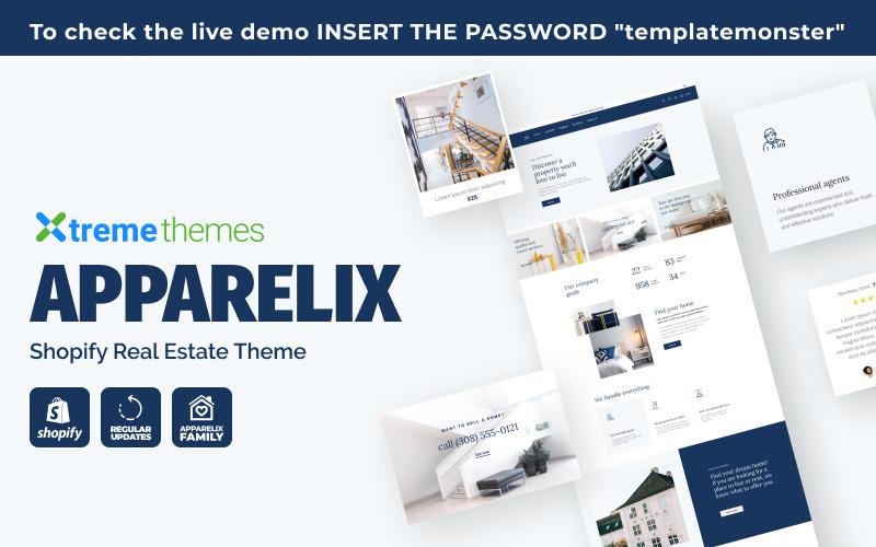 Тема Apparelix Shopify Real Estate