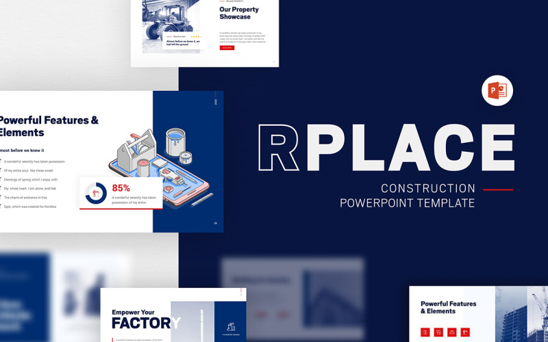 RPLACE 建筑现代 Powerpoint 模板