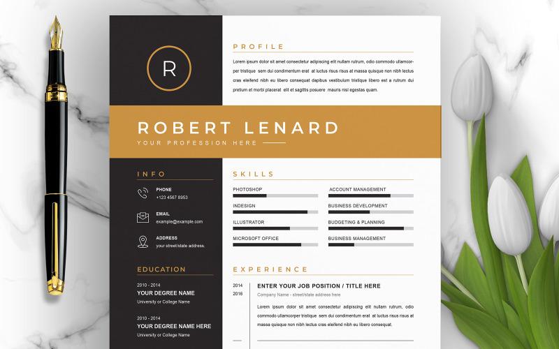 Robert / Modèle de CV Modèles de CV imprimables