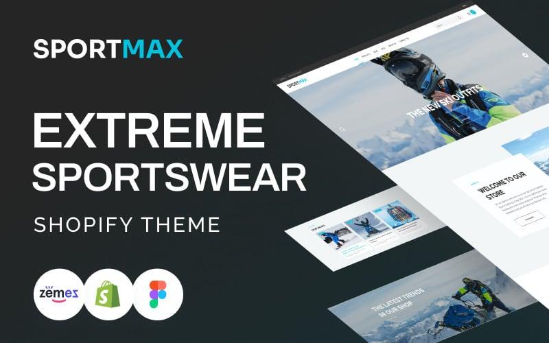 SportMax - Responsive Extreme Sportswear Shopify Theme