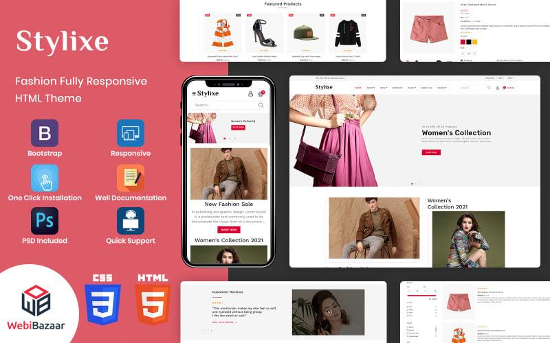 Stylixe - Modèle de site Web HTML5 Premium polyvalent