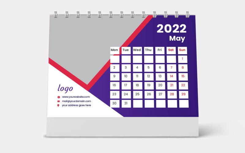 Calendrier De Bureau 2022 Personnalisé Modèle de calendrier de bureau personnalisé 2022