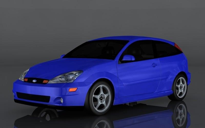 2003 Ford SVT Focus 3d model