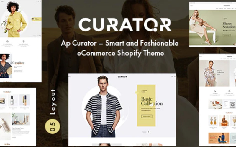 Abelhas - Tema Shopify de Estilo de Vida e Loja de Designer