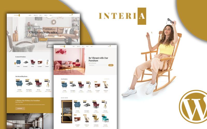 Interia - Тема мебели для Woocommerce