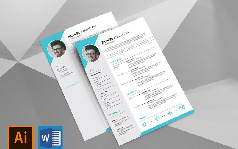 Richerd Clean Printable Resume Template