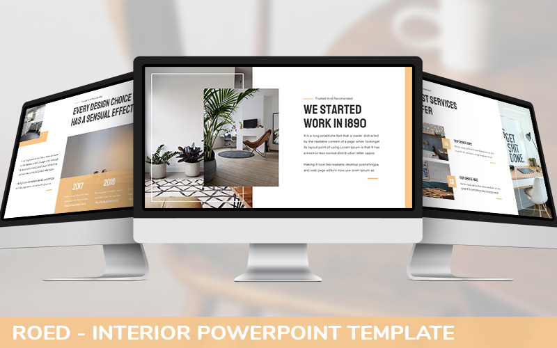 Roed - Interior Powerpoint Template