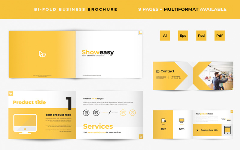 Business Product Showcase Brochure