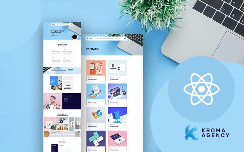 Kroma   Easy Multipurpose Agency React Website Template