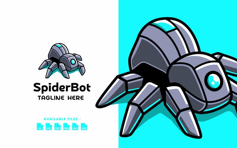 Логотип Super Techy Spider Bot