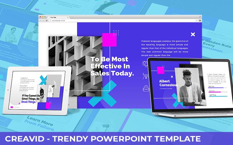 Creavid - Modèle PowerPoint à la mode
