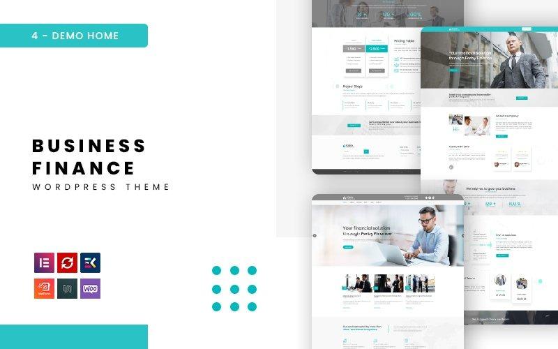 Forby - тема WordPress для бизнес-финансов