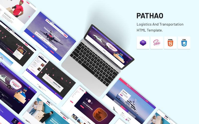 Pathao - HTML-шаблон логистики и транспорта.