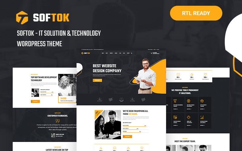 Softok - тема WordPress, посвященная технологиям и ИТ-решениям