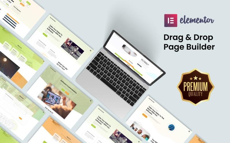 Ultimate Elementor Web Kit для стартапов