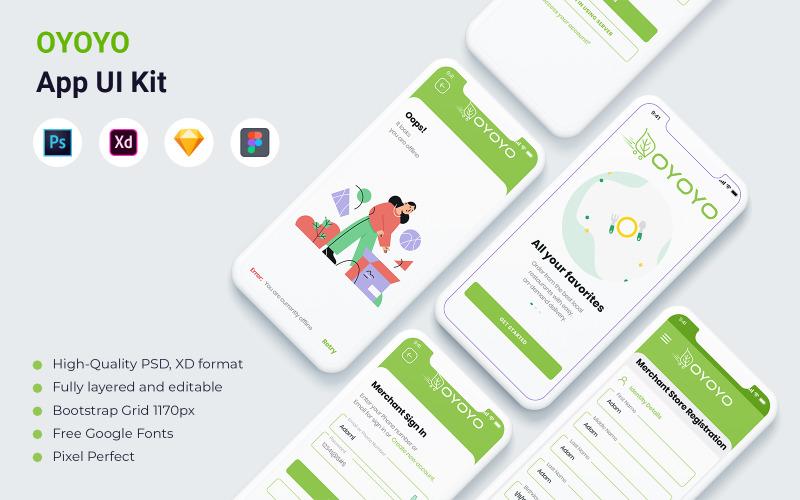 OYOYO- E commerce App UI Kit