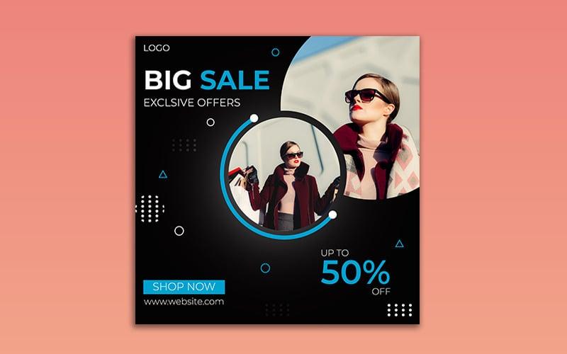 Big Sale Social Media  Instagram  Post Template