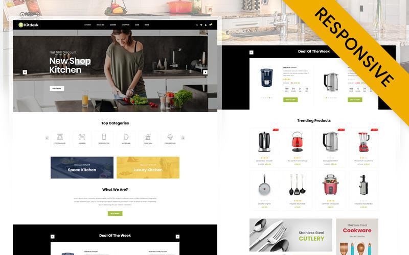 Kitdesk - Kitchen Appliance Prestashop Responsive Theme