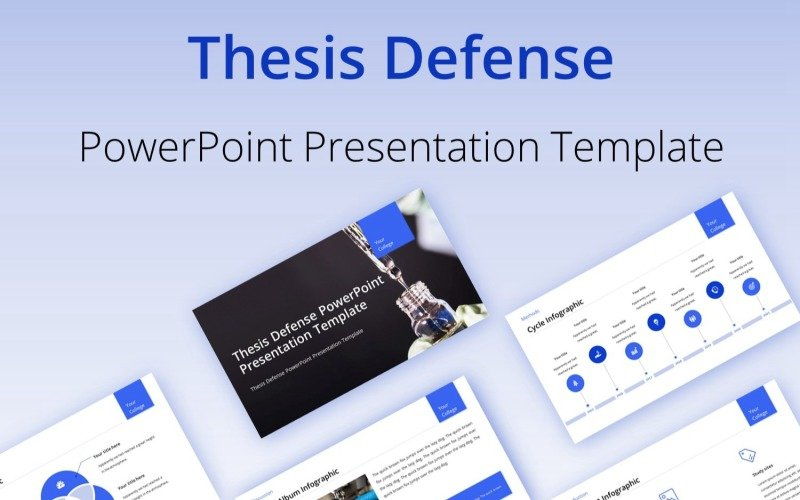 Thesis Defense PowerPoint Presentation Template