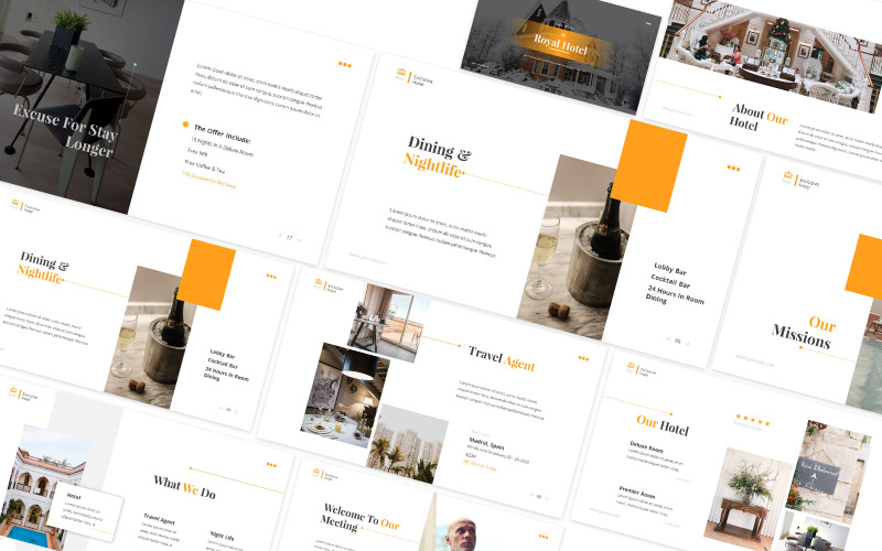 Royal Hotel Powerpoint Template