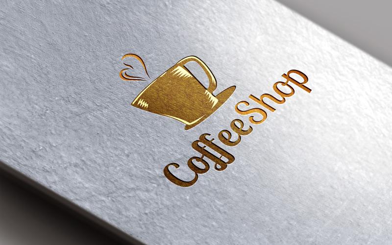 Coffee Shop Logo Design Template