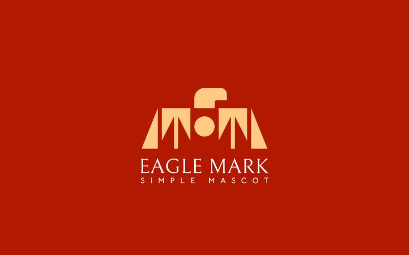 Enkelt Eagle Logo Design Concept