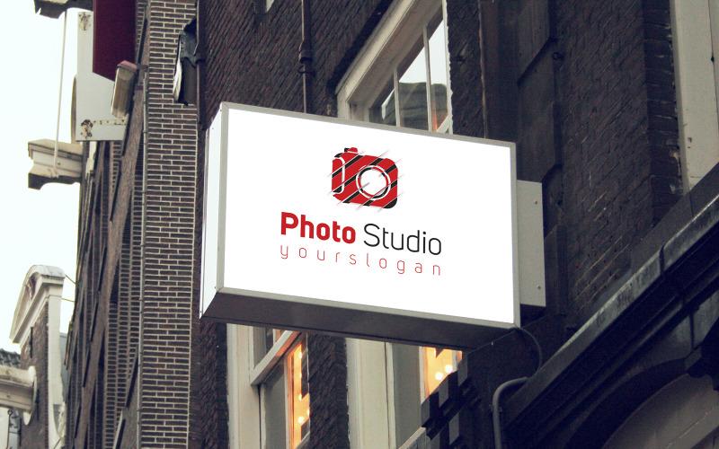 Fotostudio logotyp mall