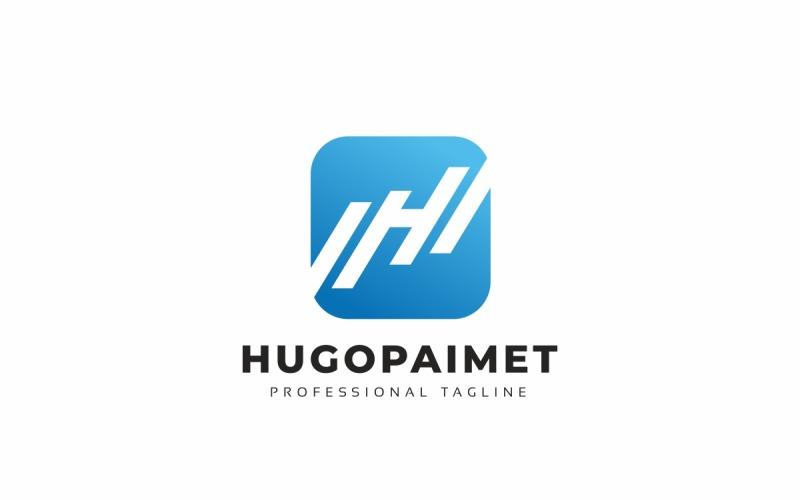 Hugopaimet H Letter Logo Template