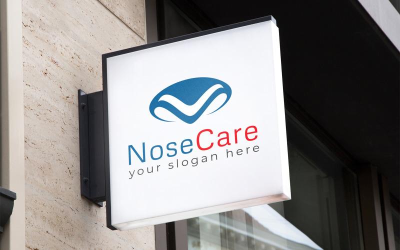Nosvård Logo designmall