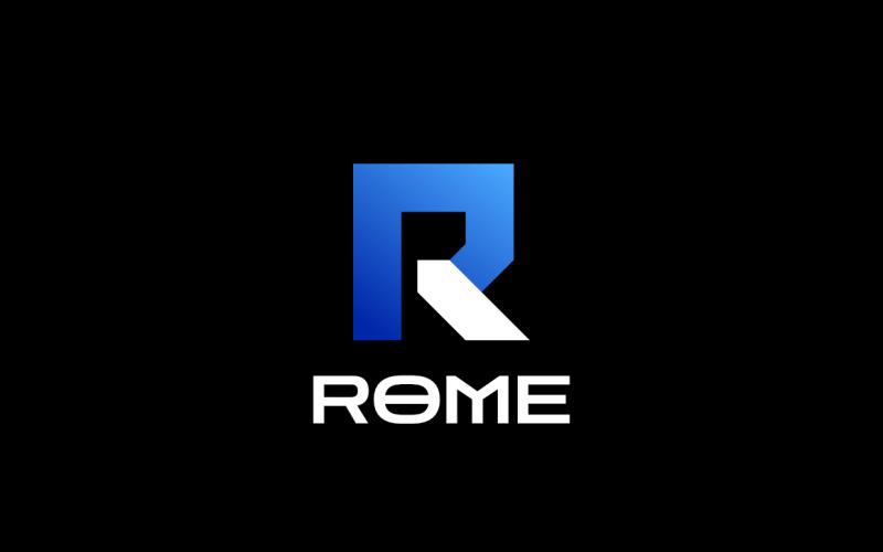 R Technology - Gradient-logotyp