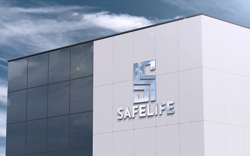 S Letter Safelife Logo Template