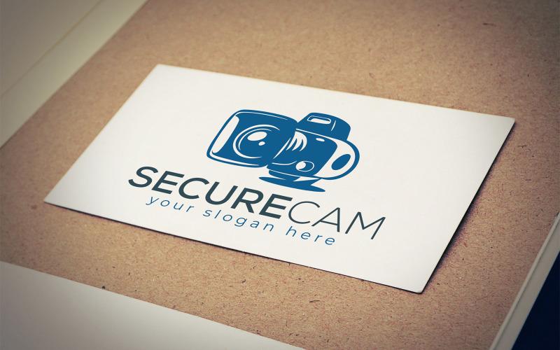 Secure Cam Logo Design Mall