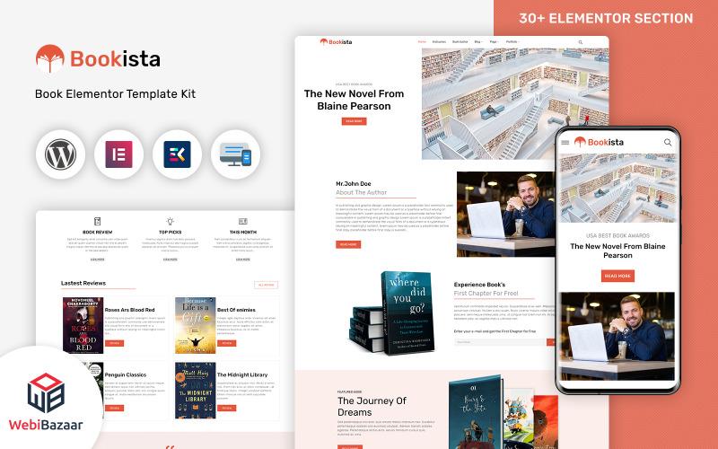 Bookista - Writer & Publishing Company WordPress-tema