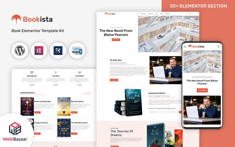 Bookista - Writer & Publishing Company WordPress Theme