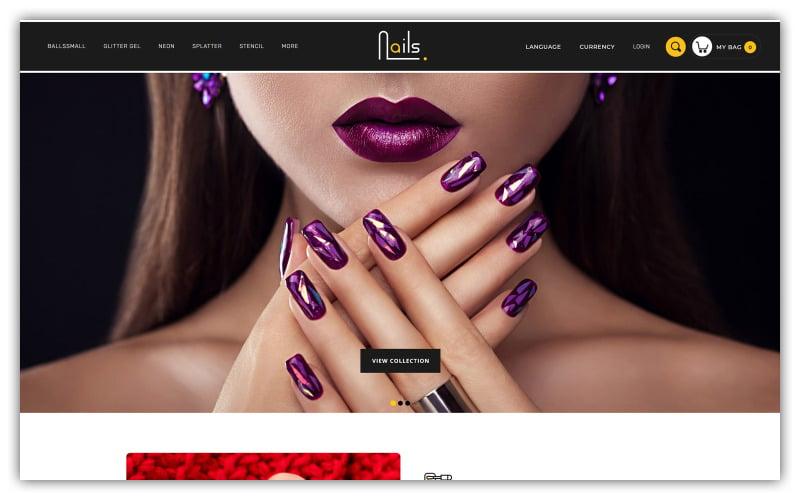 Nails - Nailpolis Store Opencart Theme