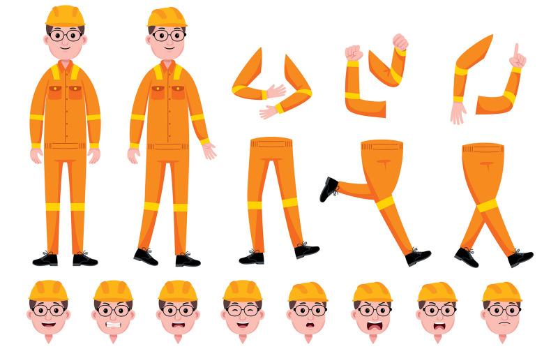 Stiliserade karaktärer för animering # 07-vektorer