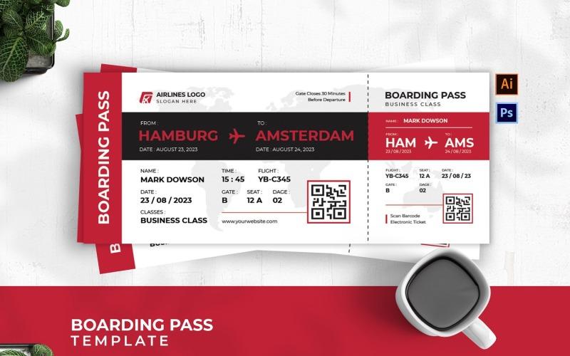 Boardingkort för Business Class